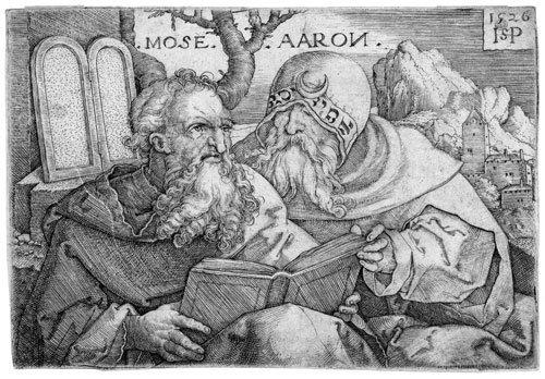 5021: Beham, Sebald: Moses und Aaron