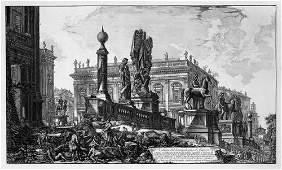 5363: Piranesi, Giovanni Battista: Veduta del Campidogl