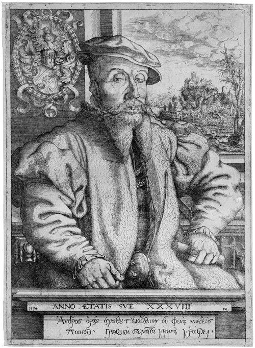 5791: Lautensack, Hans: Bildnis Georg Roggenbach
