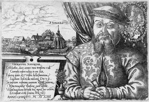 5792: Lautensack, Hans: Bildnis Hieronymus Schurstab