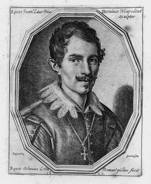 5793: Leoni, Ottavio: Bildnis des Giovanni Lorenzo Bern