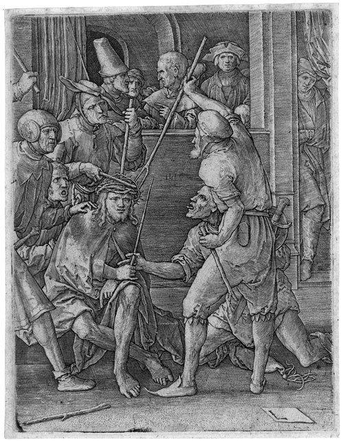 5798: Leyden, Lucas van: Die Dornenkrönung Christi