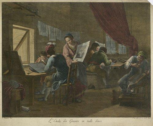 5808: Maggiotto, Francesco - nach: L''Etude des Gravers