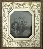 4027 Daguerreotype Family group portrait
