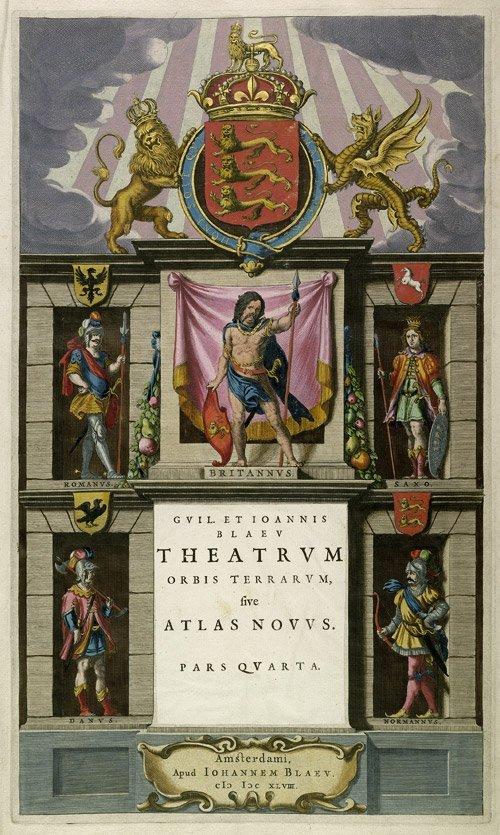 5: Blaeu, Wilhelm und Johannes: Theatrum orbis terrarum