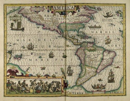 11A: Mercator, Gerard: L'atlas. Editio quarta (French e