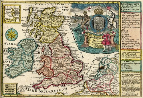 16: Schreiber, Johann Georg: Atlas selectus. Mit 43 kol