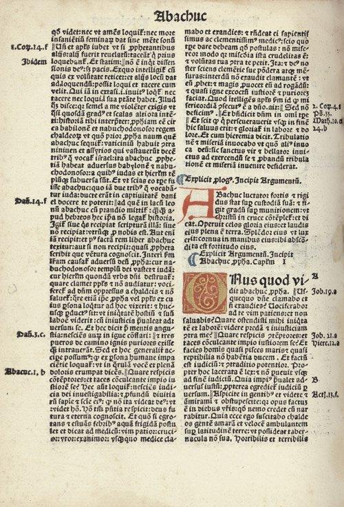 808: Biblia integra summata: Basel, Johann Froben, 1491