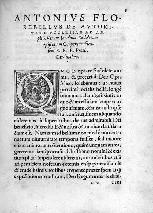 823: Florebelli, Antonio: Liber de autoritate ecclesiae