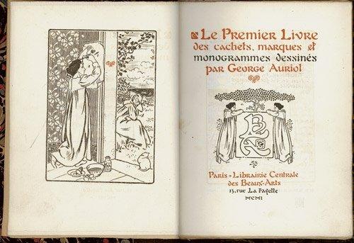 3015: Auriol, George: Le Premier (- Troisième) Livre de