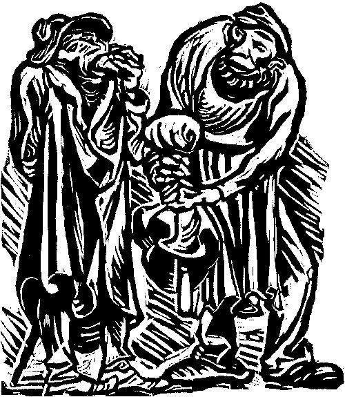 3022: Barlach, Ernst: Der Findling