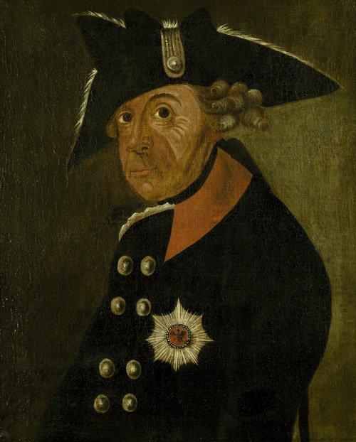 6200: Adlich: Bildnis Friedrich d: Gr.