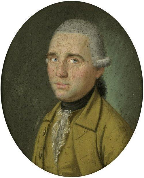 6204: Bardou, Paul Joseph: Bildnis eines Mannes im gelb