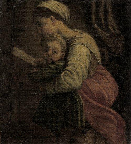 6207: Bologna, um 1600: Maria mit dem Kind