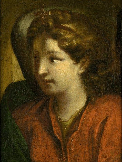 6208: Bologna, um 1650: Bildnis eines jungen Mannes
