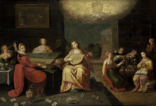 6220: Francken II, Frans - Werkstatt: Parabel von den k