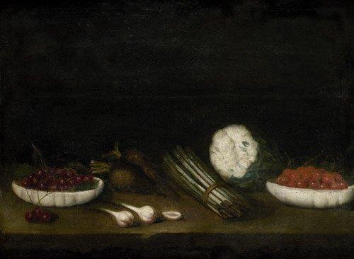 6222: Französisch, 17. Jahrhundert: Stilleben mit Sparg