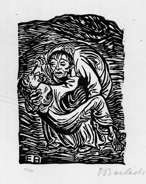 6809: Barlach, Ernst: Barmherziger Samariter