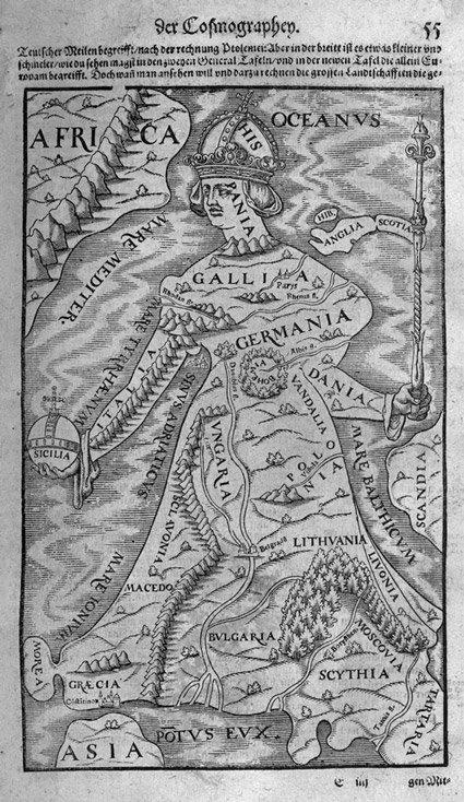 17: Münster, Sebastian: Cosmographey. Basel, Henricpetr