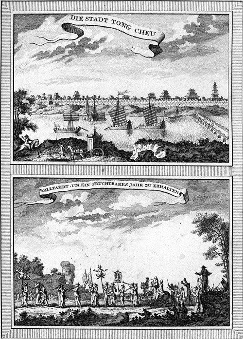 21: Schwabe, J. J.: Allgemeine Historie der Reisen Band