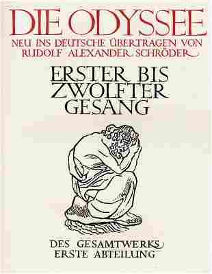 2861: Homer: Die Odyssee, Übers. Schröder. 1907-10