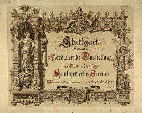 3606: Dolmetsch, H. : Stuttgart Königsbau. Fortdauernde