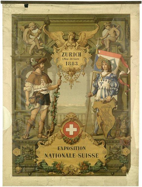3607: Lüthi, A. : Exposition Nationale Suisse Zürich 18