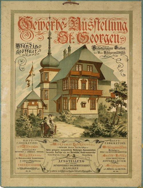 3611: Anonym. - Deutschland: Gewerbe-Ausstellung St. Ge