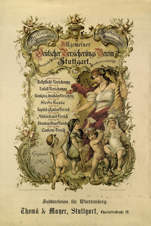 3612: Kolb, J. : Allgemeiner Deutscher Versicherungs Ve