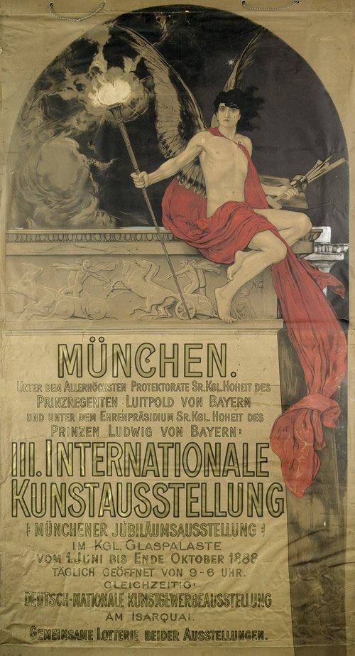 3615: Gysis, Nikolaus: München. III. Internationale Kun