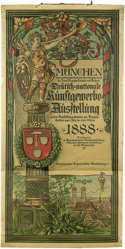 3616: Seitz, Rudolf von: München. Deutsch-nationale Kun