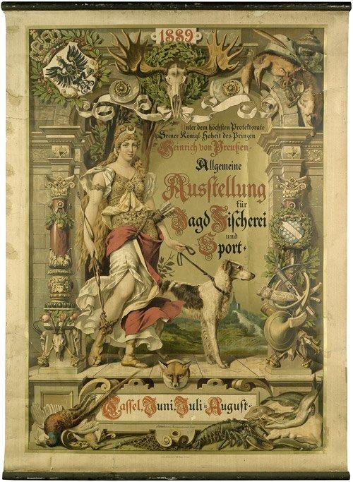 3618: Brünner, Carl: Allgemeine Ausstellung für Jagd, u