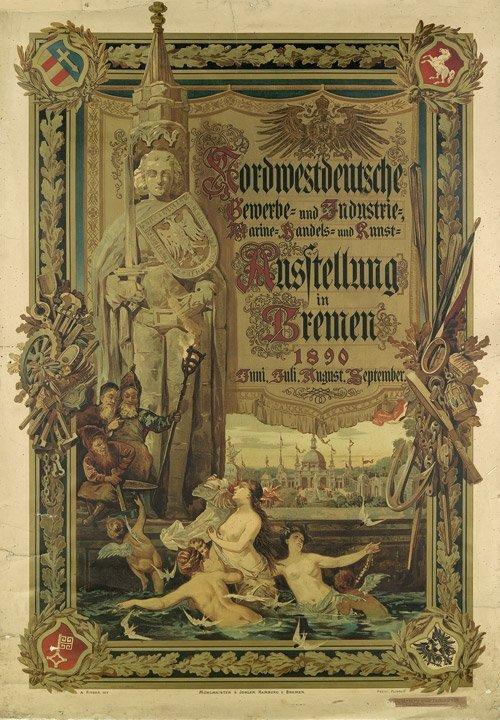 3619: Fitger, Arthur Heinrich Wilhelm: Nordwestdeutsche