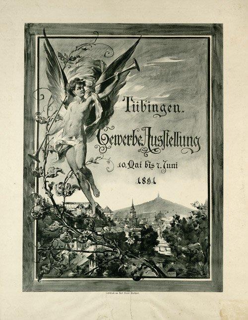 3621: Weidle: Tübingen. Gewerbe-Ausstellung 1891