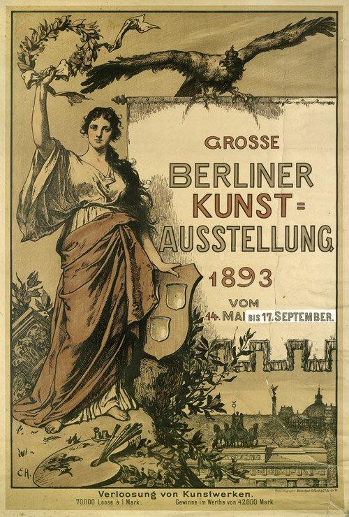 3622: Hildebrandt, Ernst Paul: Große Berliner Kunst-Aus