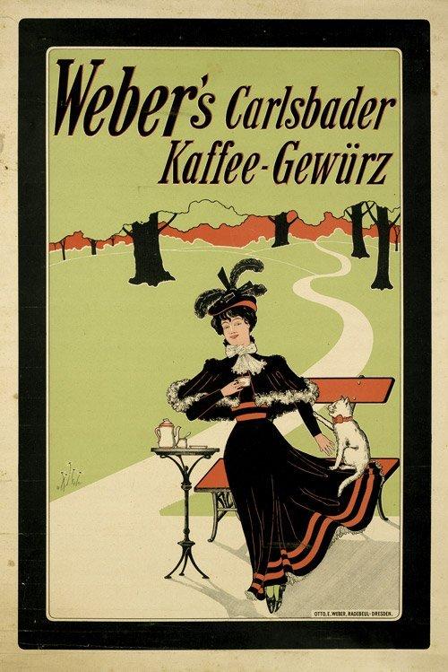 3801: Anonym: Weber''s Carlsbader Kaffee-Gewürz