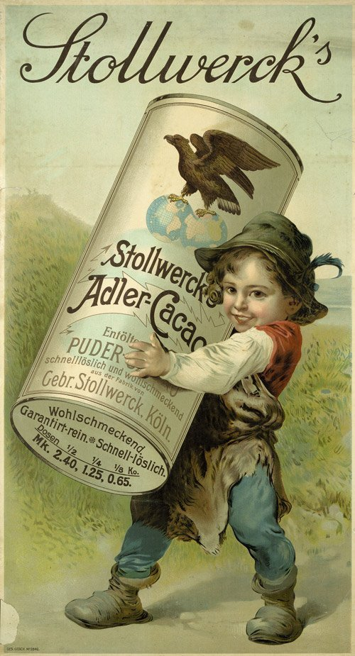 3812: Anonym. - Deutschland: Stollwerck''s Adler Cacao.
