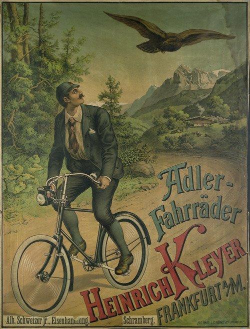3878: Anonym: Adler-Fahrräder Heinrich Kleyer