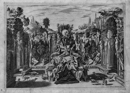 5000: Alfiano, Epifanio de: Szenographische Darstellung