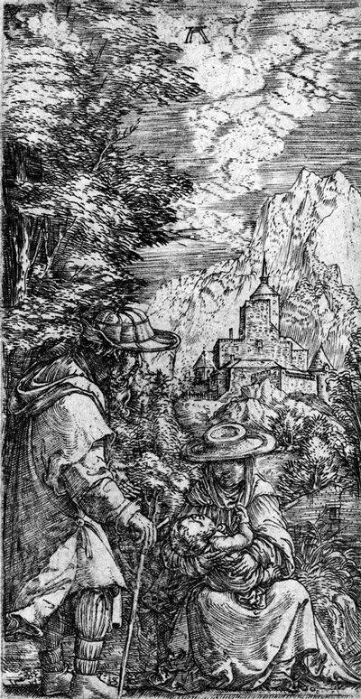 5002: Altdorfer, Albrecht: Ruhe auf der Flucht