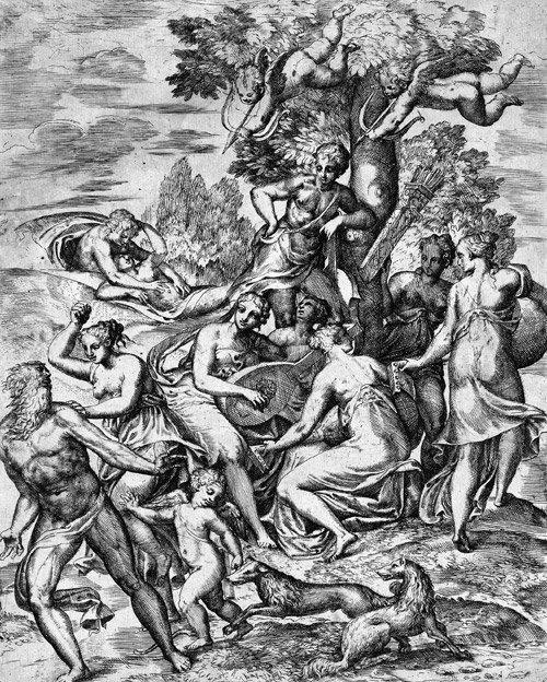 5008: D'Angeli, Marco: Im Garten der Liebe