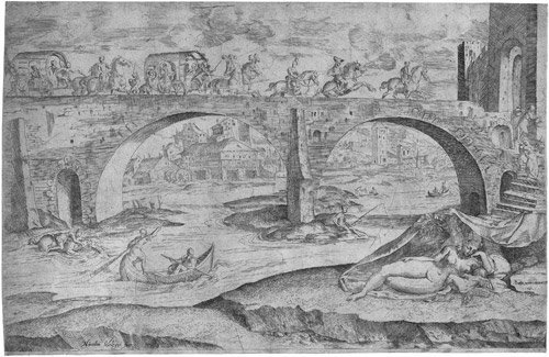5009: Angolo, Giovanni Battista de: Landschaft