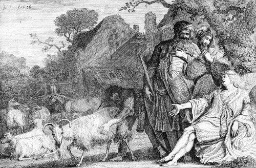 5014A: Bleker, Gerrit Claesz: Die Verheißung an Abraham