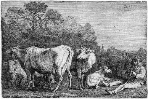 5015: Bleker, Gerrit Claesz.: Der Kuhhirt