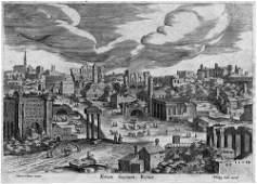 5054: Cleve, Hendrik van - nach -: Das Forum Boarium in