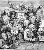 5897 Hogarth William Chorus of Singers