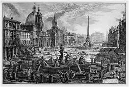5992: Piranesi, Giovanni Battista: Veduta di Piazza Nav