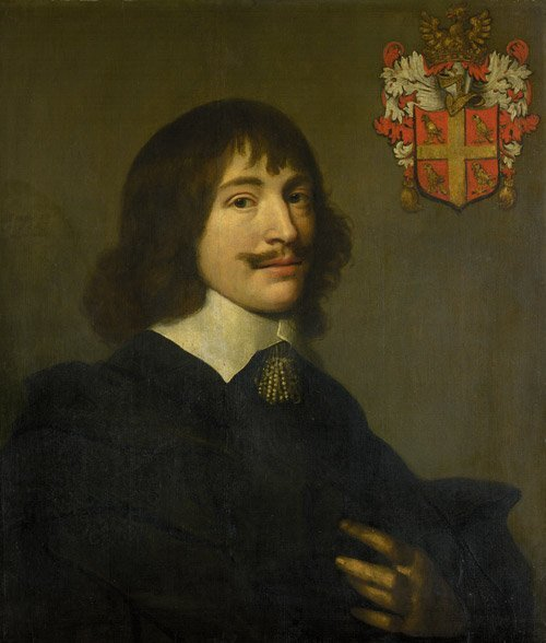 6302: Delff, Jacob Willemsz d. J.: Bildnis eines Kavali