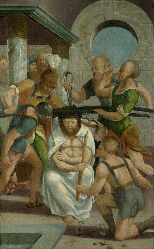 6303: Deutsch, 1554: Die Geisselung Christi