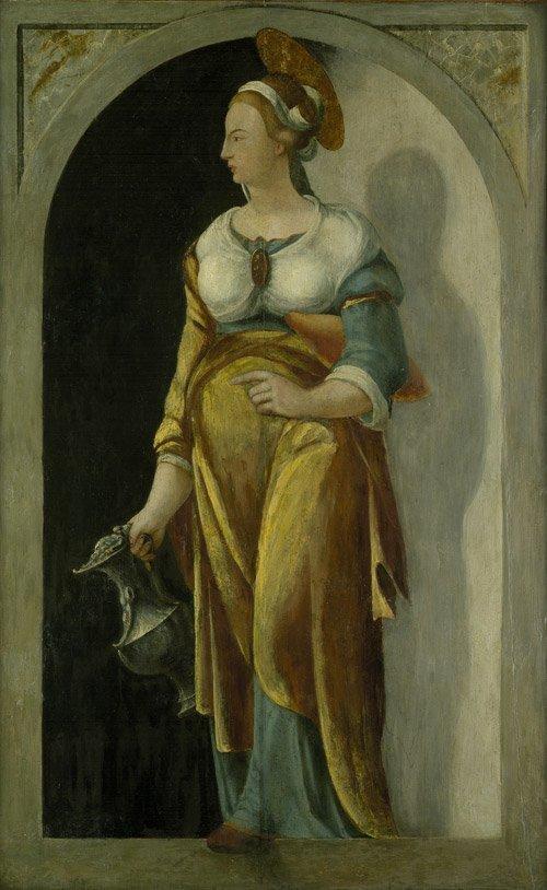6304: Deutsch, um 1560: Die hl. Elisabeth